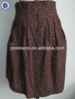 Ladies' woven skirt