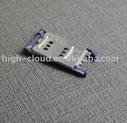 SIM card holder hinge type
