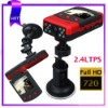 2.4LTPS 30fps 140 degree A class hd 720p car video recorder (p7000)