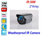 700TVL Effio-P HD WDR Sony CCD long range IR Array 100M LED Night Vision Outdoor HD CCTV Camera OSD
