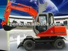 RTL60A Hydraulic wheel excavator for selling