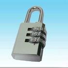 Brass padlock in chrome,brass pad lock