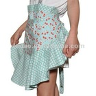 new design cotton pretty waist aprons with lace