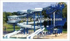 Amusement Water Park Inflatable Playing Sports Tunnel, Structure part