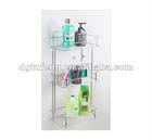 triple tier bathroom shelf