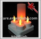 Rechargeable Battery Operated Arts and Crafts candle