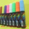 Wet liquid neon marker & sparkle pen