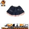 Latest fashion kid short skirt