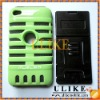 Microphone Design TPU & PC Combo Case For iPod Touch 4