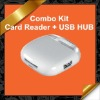 5 in 1 SD(HC) TF MS M2 Card Reader + USB Hub Combo Connection Kit for Apple iPad KCR011