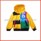yellow children outerwear