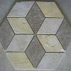 Travertine Rhombus Mosaic