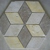 Travertine Rhombus Mosaic
