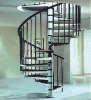 steel wood spiral staircase