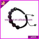 fashion cheap colorful diy Shambhala bracelet