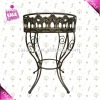 flower metal stand