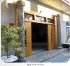 Chinese Outdoor Gate Round Pillars