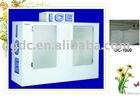 ice cube bin with double doors