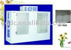 ice cube bin with double doors