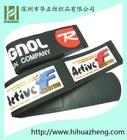 custom logo velcro snow ski strap