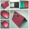 Smart aluminum cover case for ipad 2 with stand holder