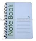 spiral coil notebook