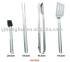 New!!! 4PCS Stainlee Steel BBQ Tools HK3309
