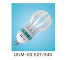 Lotus compact fluorescent Energy saving lamp LELM-03 E27/E40 45W/55W/65W/95W/ 85W