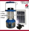 New Solar Camping Lamp with radio and CE approved Model No.DN803-LED