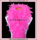 100g very fluffy Chandelle Feather Boa boas Hot Pink