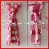 100% polyester polar fleece fashion scarf