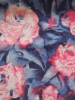 F57 cotton polyester stretch printed denim fabric