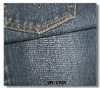 2012 100%cotton polyester stretch denim fabric