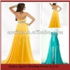 LED92 Fashion Front Short and Back Long Chiffon Real Evening Dress