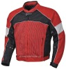 Men's 100% polyester mesh fabric motorcycle jacket (JK-3302)