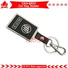 Buick car key ring promotion,car key holder for chiristmas day ,best key holder,PU leather and alloy material,OEM support