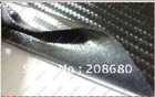 HOT!!!ONE ROLL 1.35*30M 3D carbon fiber CLOTH car wrap film-color option, not carbon fiber vinyl, it is cloth