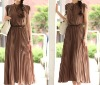 2012 hotselling fashion ladies pleated dress