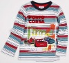 A3296#RBW Nova child wear boy stripe winter printed t shirt
