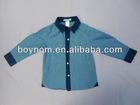 Cotton fashion shirt for boys manufactory