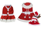 2012 Christmas pet clothes, santa dog wear