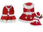 2012 Christmas pet clothes, santa dog wear