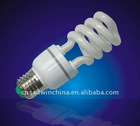 Hot sale!!! Half spiral CFL Energy Saving Lamp 12 mm