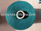 polyester spun yarn( recyled, colored fiber) for knitting