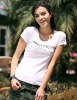 100% Cotton lady t-shirt(WTR007)