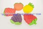 suitable fruit bath sponge for promotion and Christmas craft