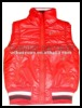 2012 lady winter vest top with zipper