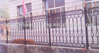 Hot galvanizaiton wrought Iron Fencing