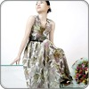 2012 latest women's evening dress