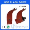 8G Promotional leather usb